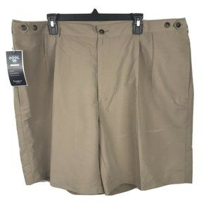 Cool 18 Shorts Pleated Front, Expandable Waistband